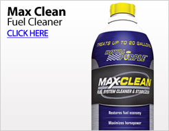 Max Clean Fuel Cleaner