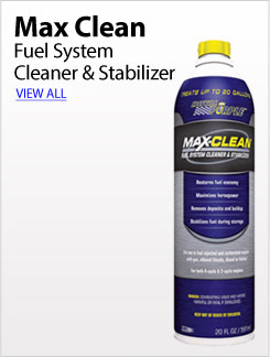 Max Clean Fuel System Cleaner & Stabilizer