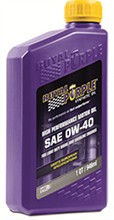 Royal Purple API Licensed Motor Oil royal purple api 0w 40