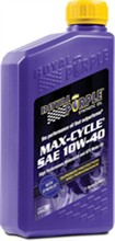 Royal Purple 10W 40 Oil royal purple maxcycle motorcycle engine oil