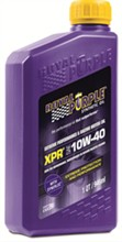 Royal Purple XPR Extreme Performance Racing Oil royal purple api 10w 40