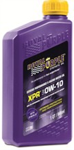 Royal Purple XPR Extreme Performance Racing Oil royal purple xpr 0w 10