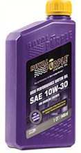 Royal Purple 10W 30 Oil royal purple api 10w 30
