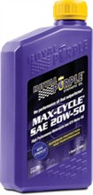 Motorcycle 20W 50 Royal Purple Oil royal purple maxcycle 20w 50