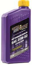 Royal Purple API Licensed Motor Oil royal purple api 20w 50
